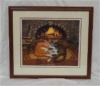 """Charles Wysocki """"All Burned Out"""" Signed and numbered"""