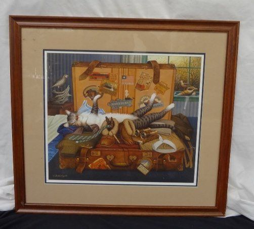 """Charles Wysocki """"Mabel the Stowaway"""" Signed, numbered,"""