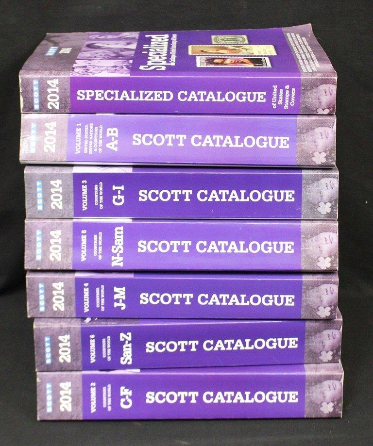 2014 Scott Catalogs Volumes 1-6 Plus Specialized