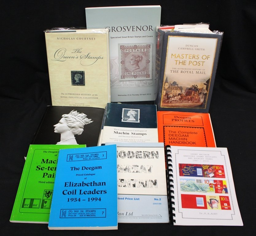 Lot of Great Britain Machin Head Literature