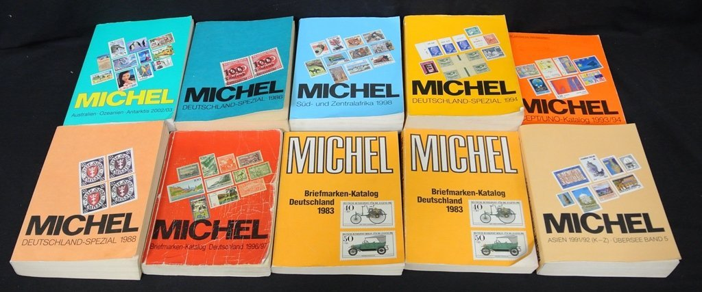 (10)Used But Useful Michel Catalogs