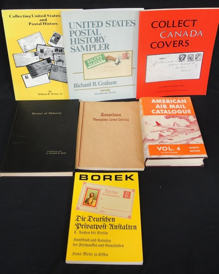 Group of Philatelic Reference Books