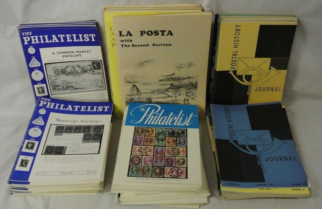 Lot of Philatelic Magazines Postal History
