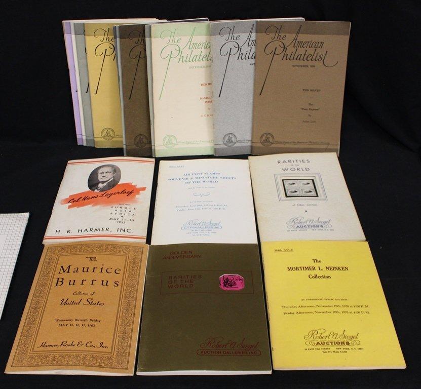 American Philatelist Magazines 1930's Robert Siegel