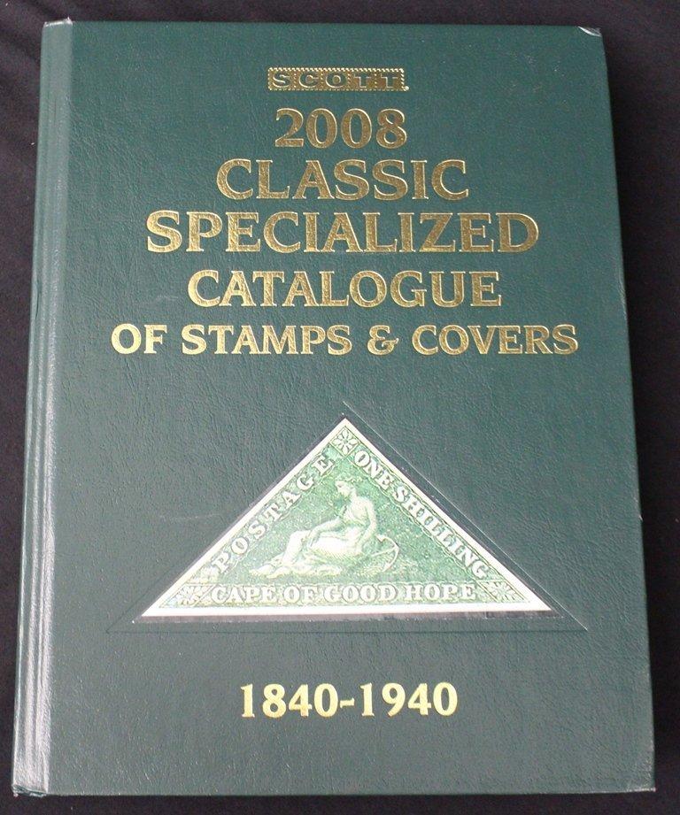 2008 Scott Classic Specialized Catalog Hardbound