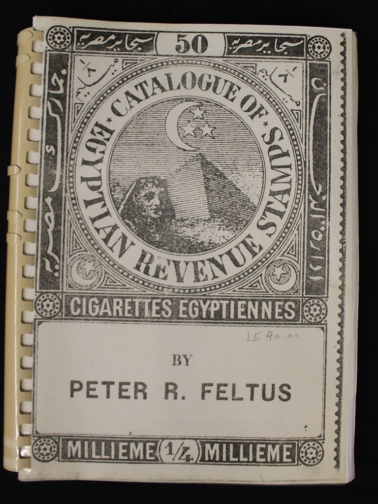 Egyptian Revenue Stamps by Peter Feltus