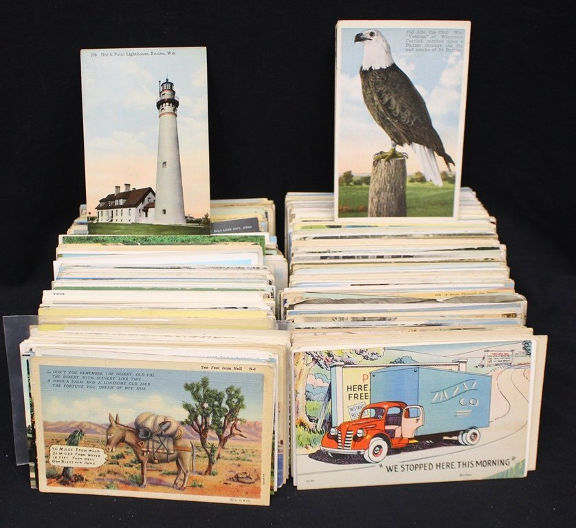 (800-1000) Mixed States Towns & Views Postcards