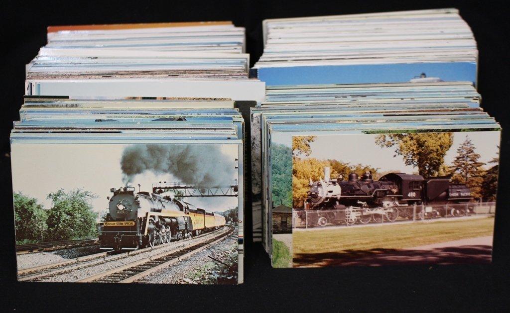 Trains - Postcards & Color Photos