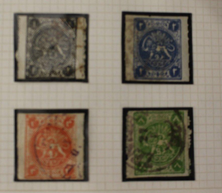 Magnificent Iran Persia Unused Used Stamp Collecion to