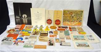 1939 New York World's Fair Paper and Ephemera Lot-