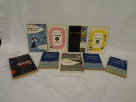 (9) Vintage Columbia Record Catalogs 1939-1950's