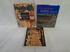 (3) Books On Australian Aboriginal Paintings