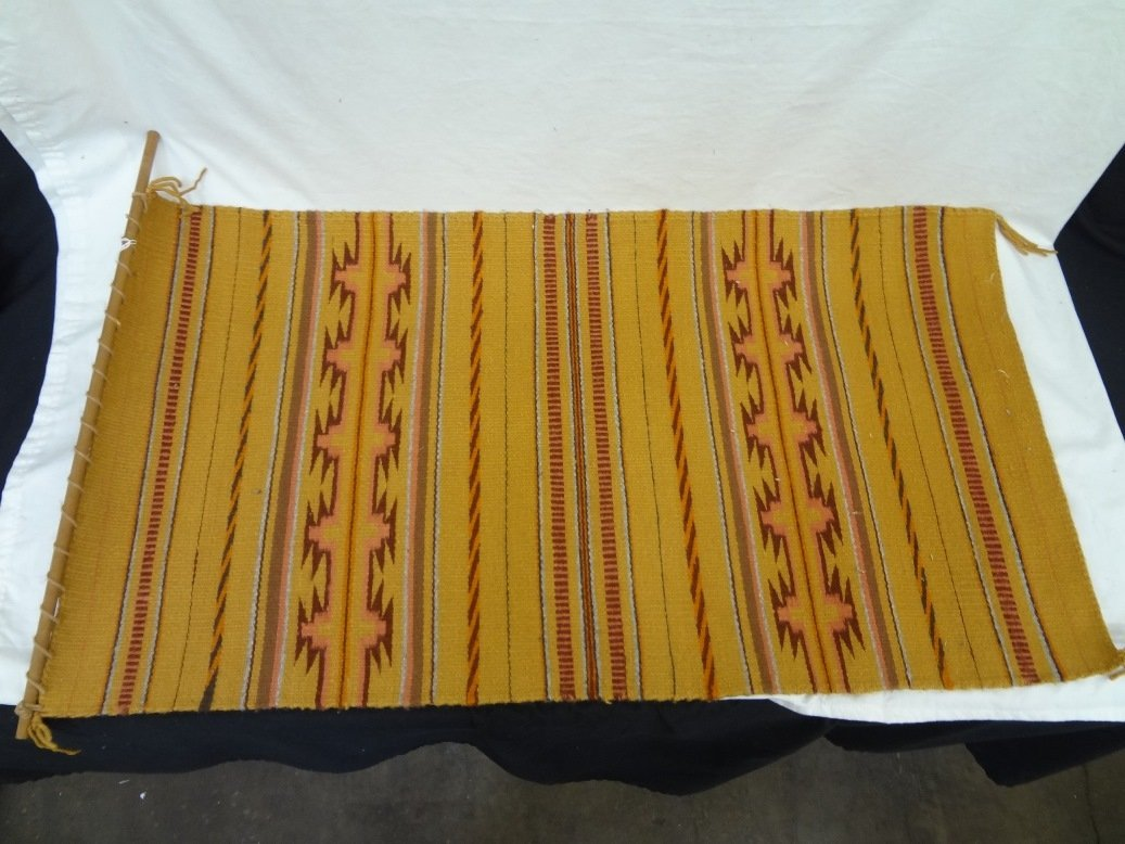Original Navajo Crystal Style Rug by Daisy Low Mountain
