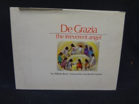 "Autographed Copy ""degrazia The Irreverent Angel"" By"