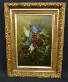 Still Life Oil On Canvas early 20th c