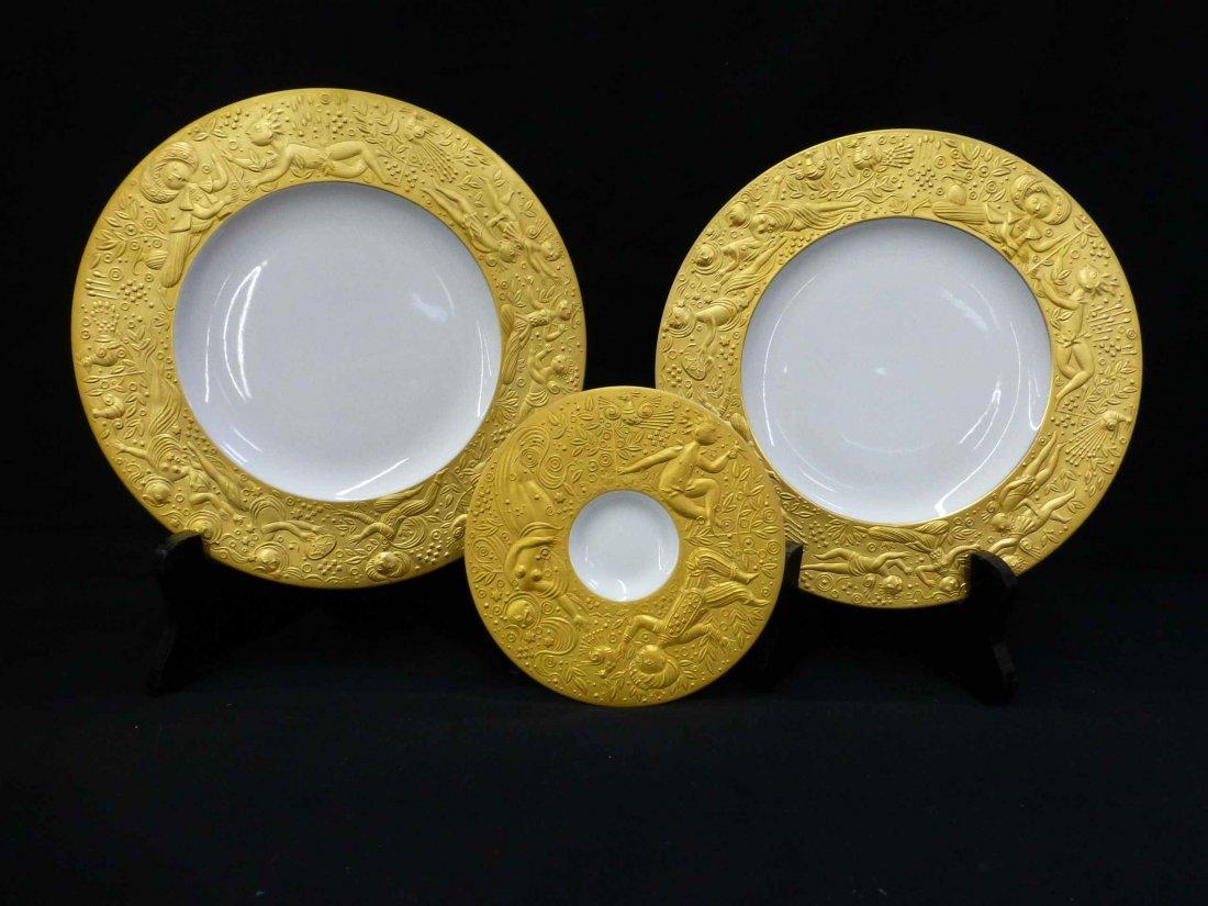 Rosenthal Sarastro Magic Flute Plates