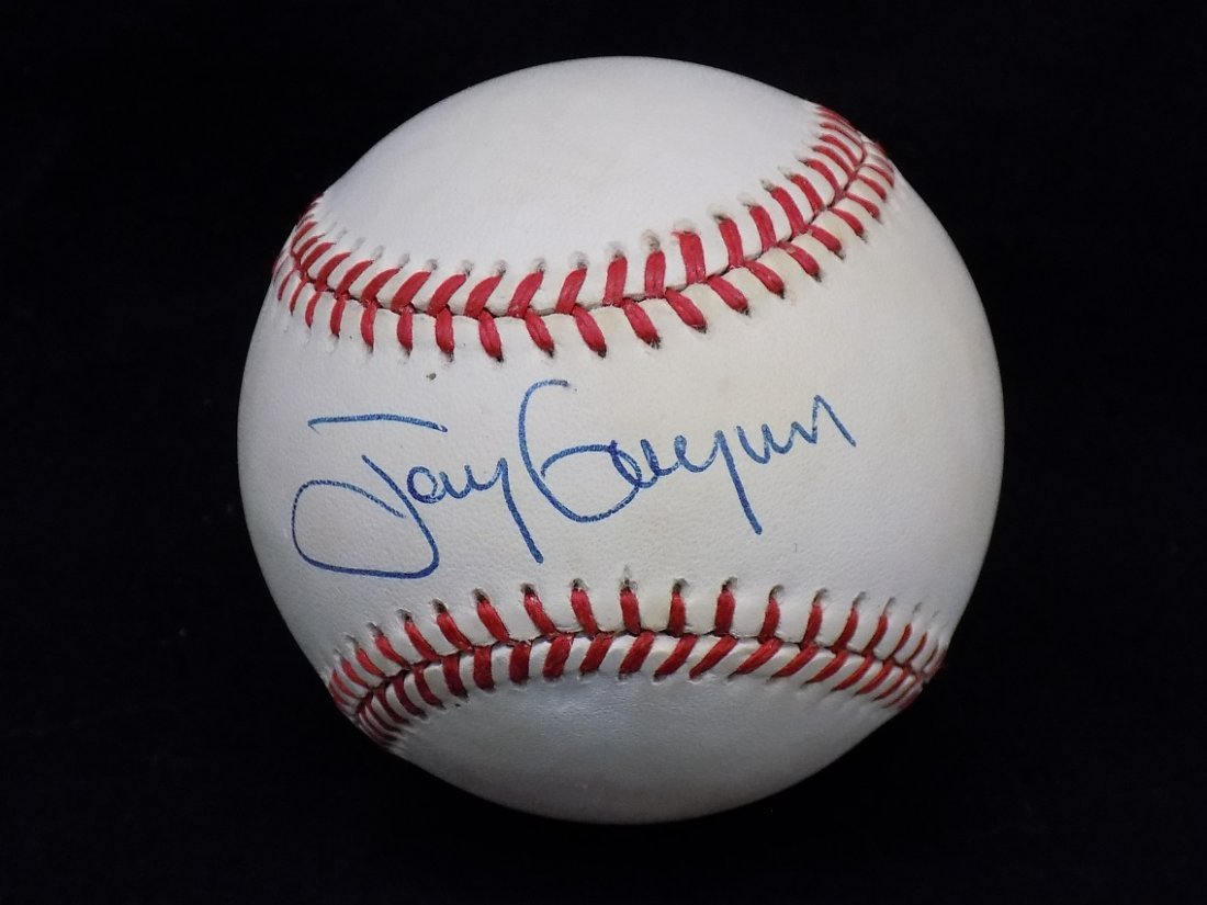 Tony Gwynn Autographed signed Official National League