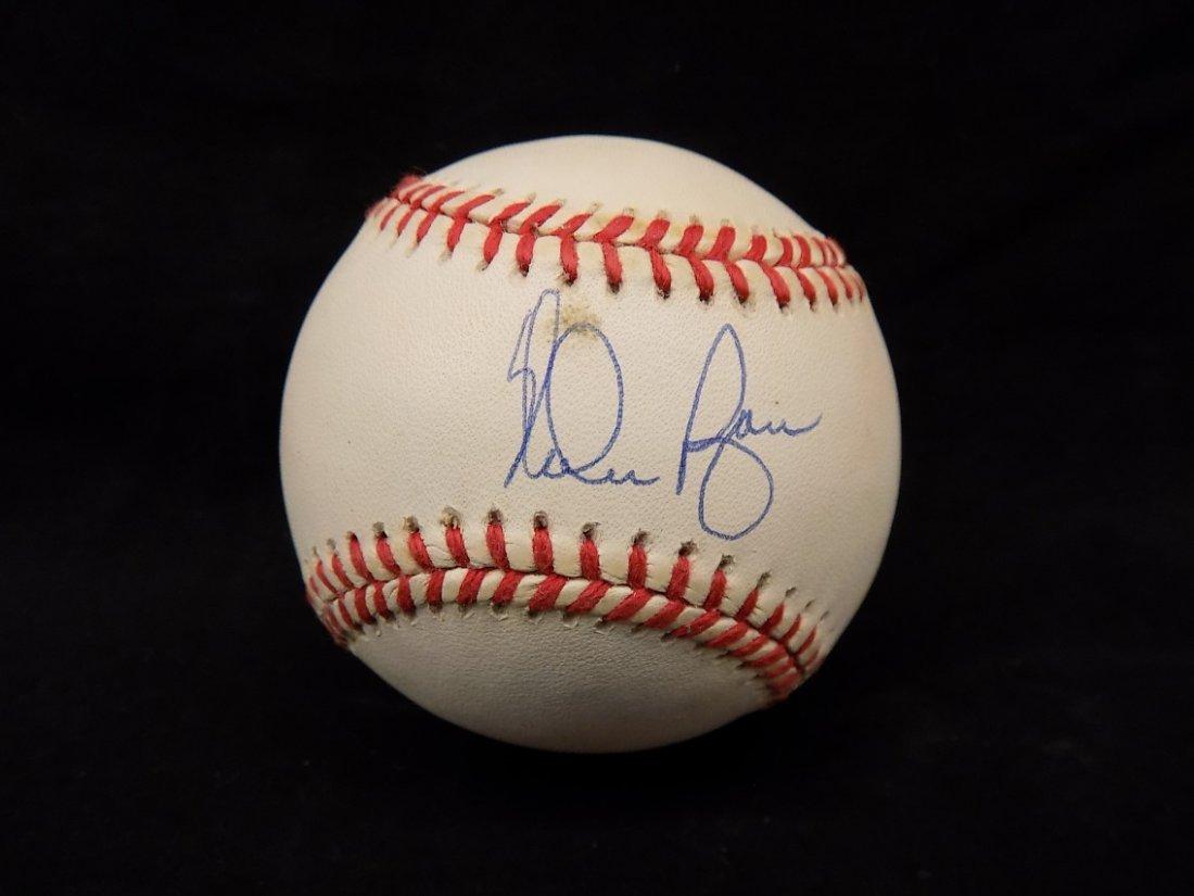 Nolan Ryan Autographed Official American League Bobby