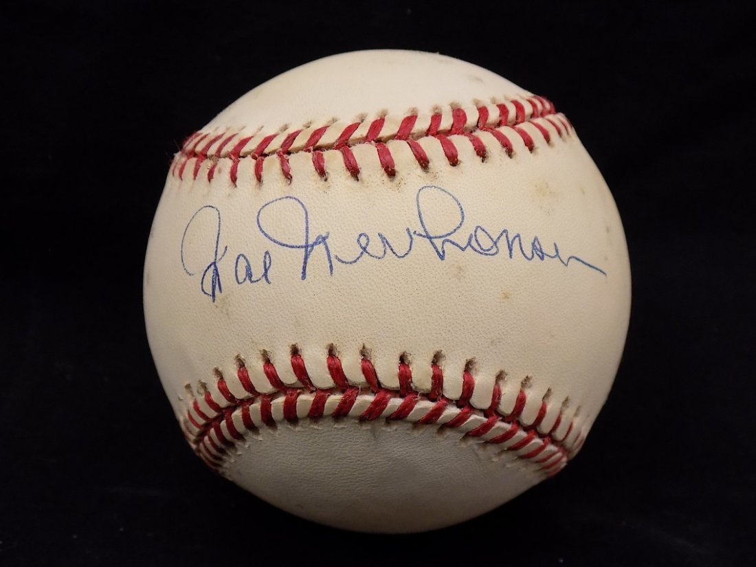 Hal Newhouser Autographed Official National League