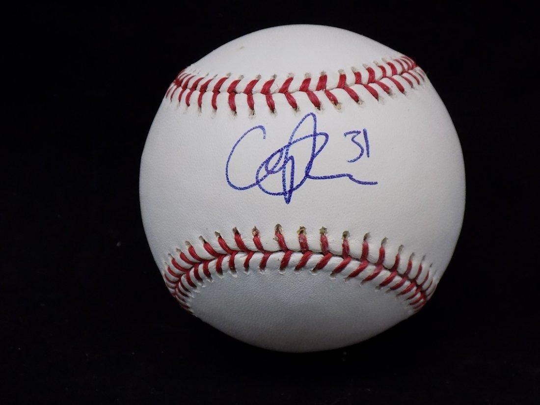 Cliff Lee #31 Autographed Official Major League Selig