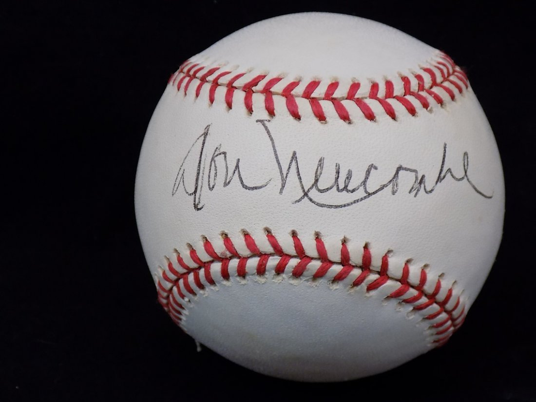 Don Newcombe Autographed Official NL Coleman Baseball