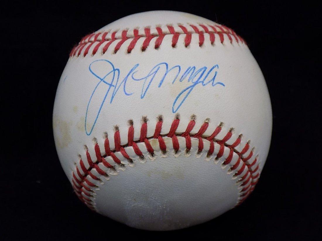 Joe Morgan Autographed Official AL Brown  Baseball SGC
