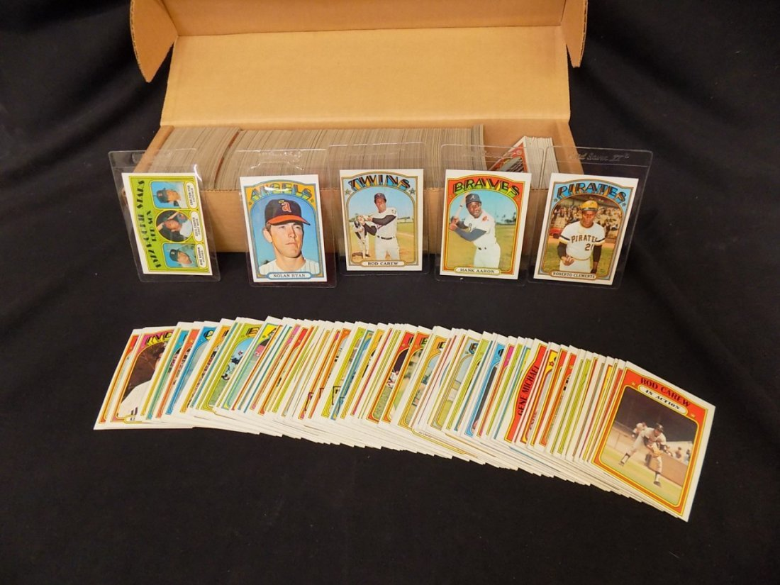 1972 Topps Hi-Grd COMPLETE SET 1-787 Clemente Mays