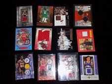 Basketball Game UsedRelic Lot 12 Magic Yao Ming X2