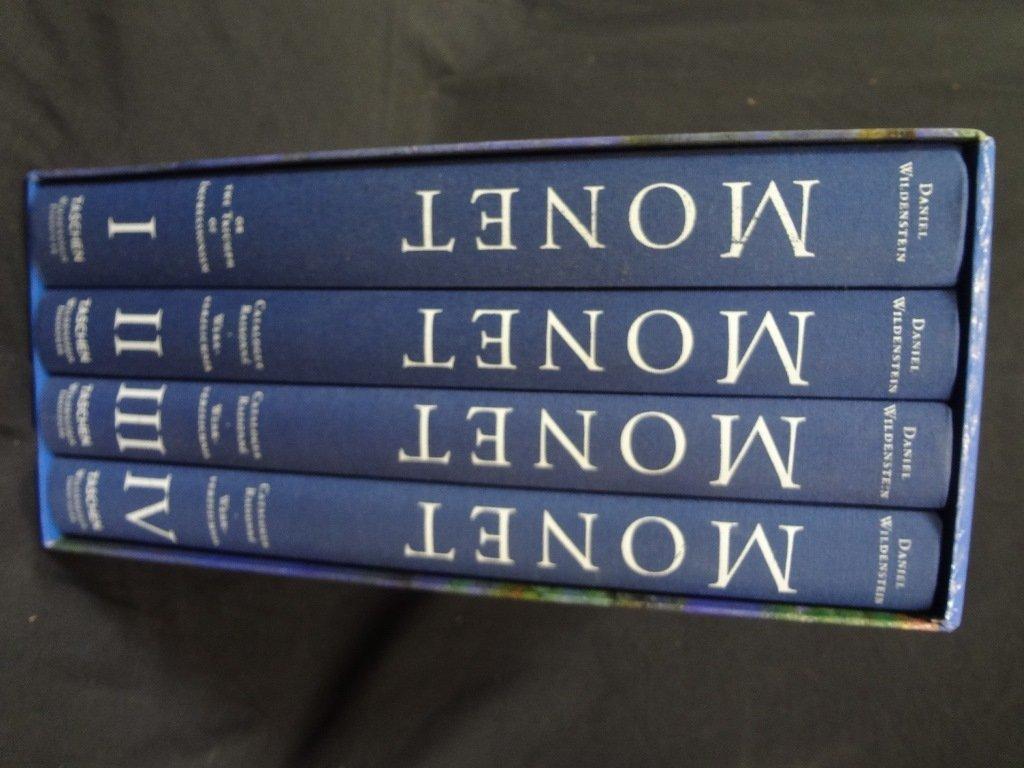 Monet: Catalogue-Raisonne Daniel Wildenstein (4) Volume