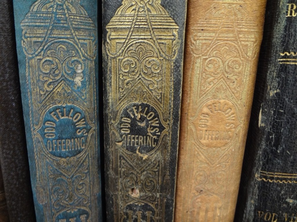 The Old Fellows Offering Book Lot (6) Published Edward