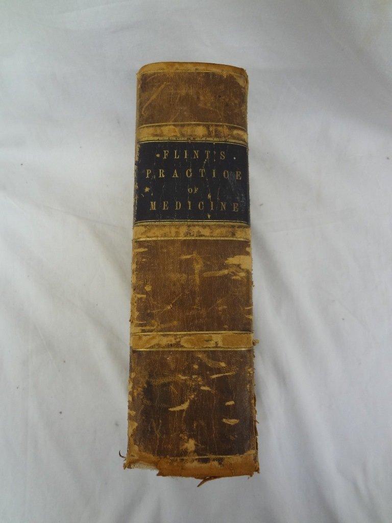 Flint's Practice of Medicine by Austin Flint MD. 1873