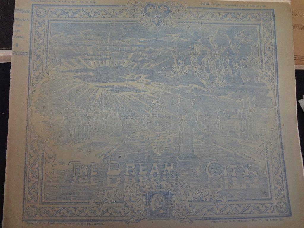(5) World's Fair Books Columbian Exposition 1904