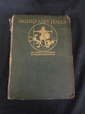 Irish Fairy Tales James Stephens 1920 With 16 Tissue