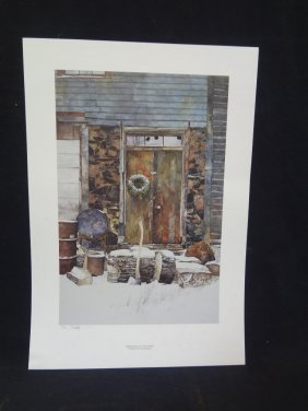 Peter Sculthorpe Signed Limited Edition 1987 Lithograph