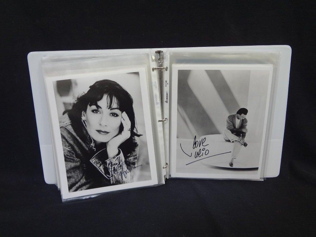 (69) Original Autographed Hollywood Photographs: Lauren