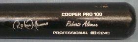 Roberto Alomar Signed Cooper Baseball Bat