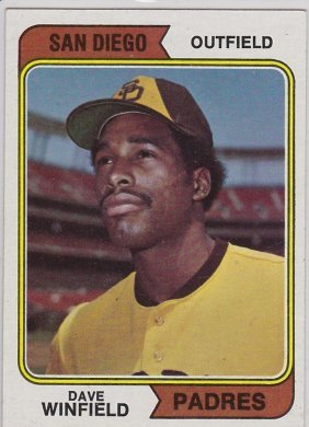 1974 Topps Baseball Complete Set (660) Cards, Winfield