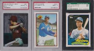 Lot of 14 Graded Star Cards with Rookies Overall