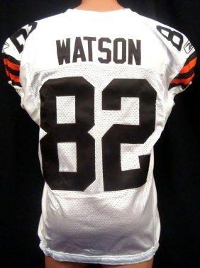 2011 Benjamin Watson Game Worn Cleveland Browns Jersey