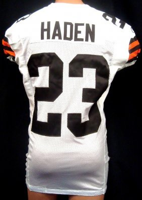 2011 Joe Haden Game Used Cleveland Browns Jersey