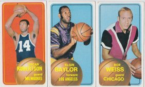 1960's-70's Basketball Card Lot, (09+) W Rookie Stars