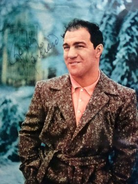 Rocky Marciano Signed Framed 8x10 Photo Display
