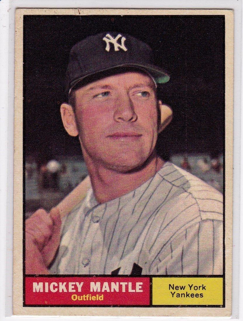 1961 Topps Baseball Card Complete Set, (587) Cards - 10