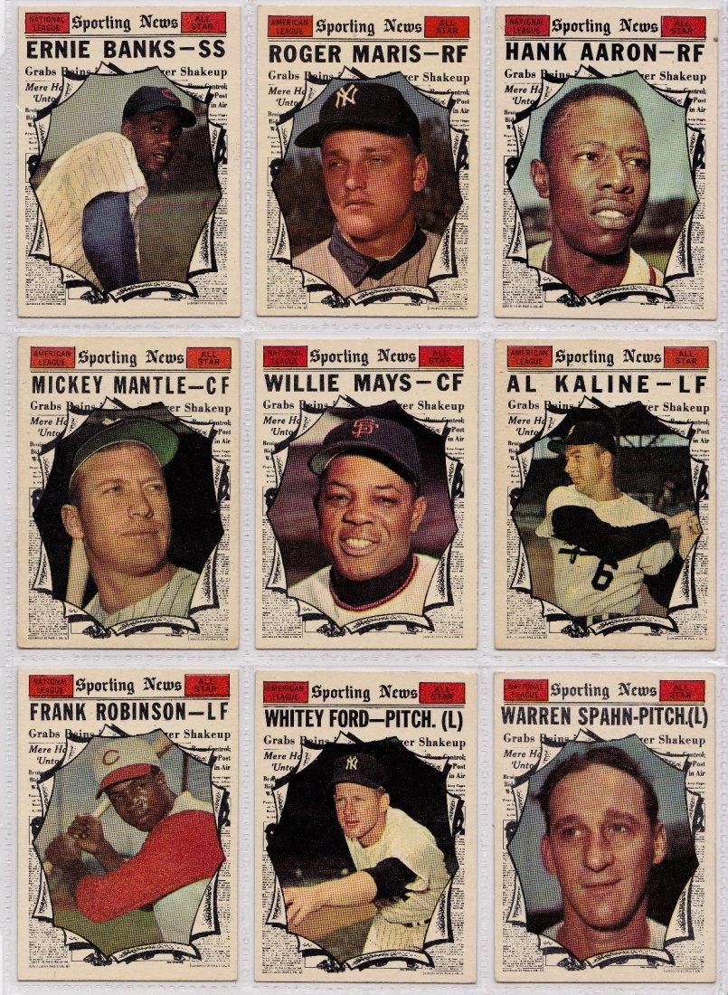 1961 Topps Baseball Card Complete Set, (587) Cards - 7
