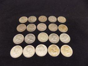 $10 Face Value 1 Roll 1964 Kennedy Half Dollars 90%