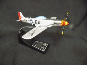Danbury Mint Chuck Yeager's P51 Mustang Glamourous Glen
