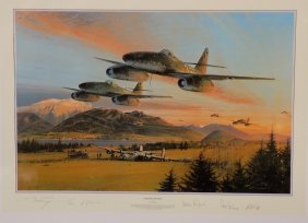 Fighter General Print By Robert Taylor, Signed By