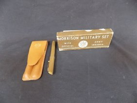 Morrison Military Pen Set With Official Us Army