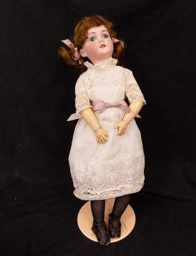 """24"""" German Aw Special 2 Aldorf Wislisenus Doll Bisque"""
