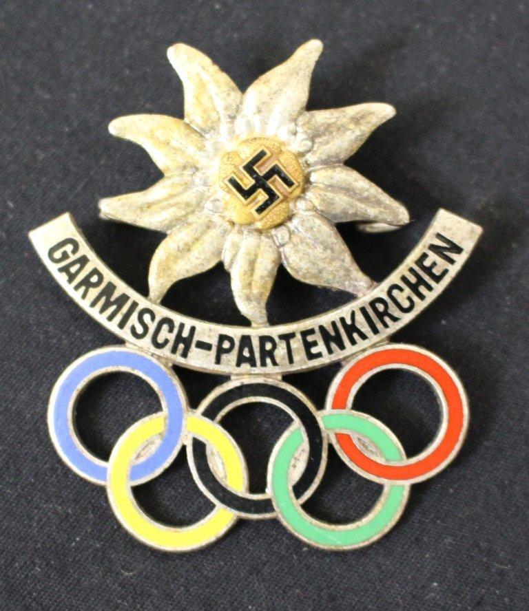 Scarce 1936 Winter Olympics Garmisch-Partenkirchen